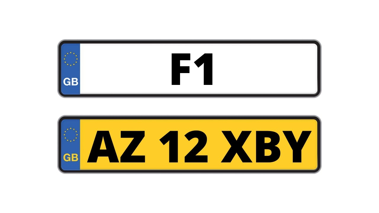 learn about personalised number plates