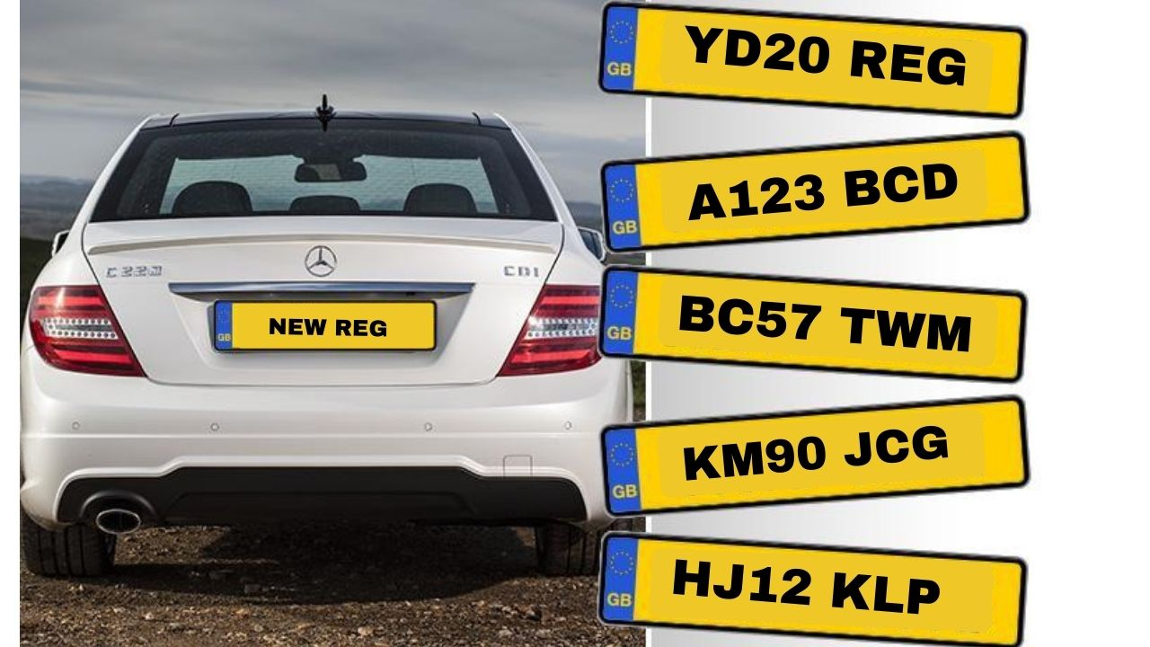 number plate change history